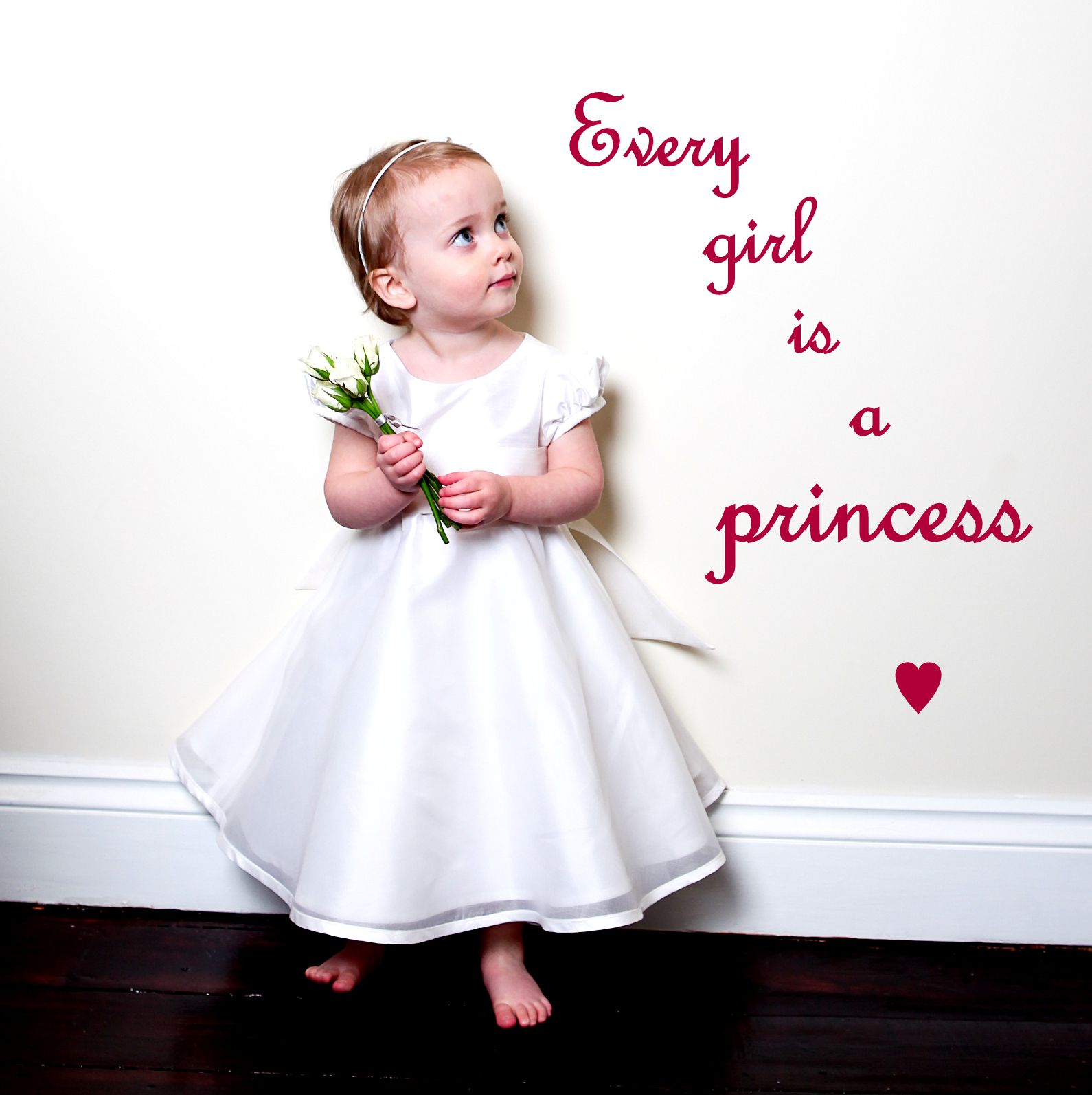 Baby scrapbook ideas quotes - Every Girl Is A Princess