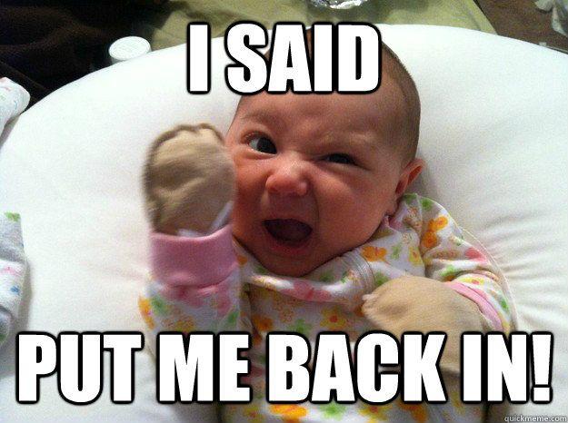 Αποτέλεσμα εικόνας για baby mom meme