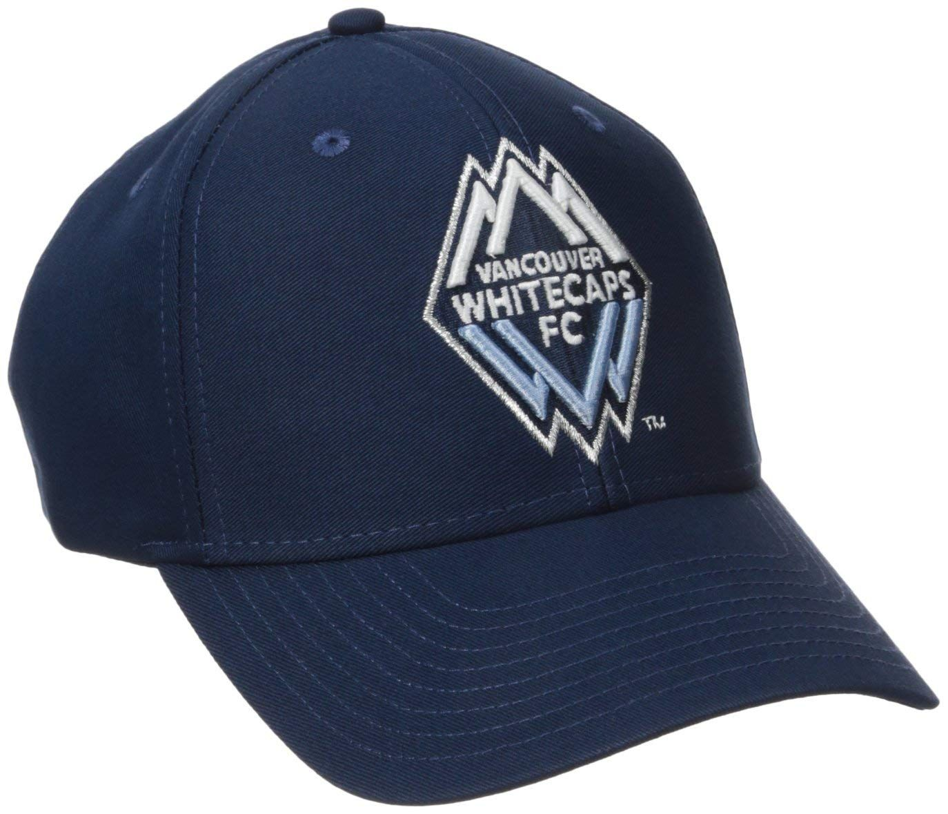 10d5387e75c MLS Vancouver Whitecaps Men s Basic Structured Adjustable Cap ...