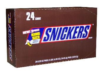 Snickers Chocolate Bars -King Size