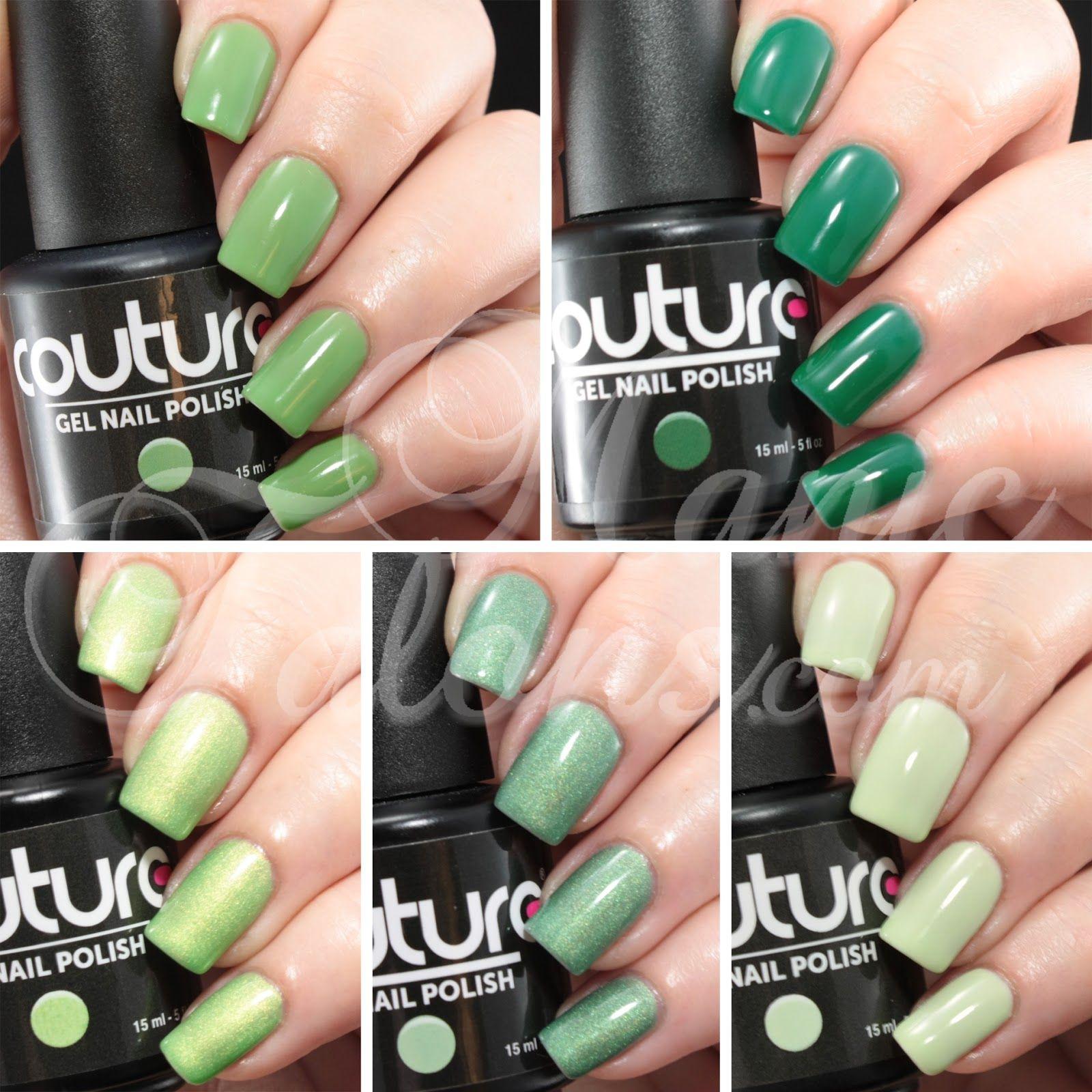 Green Gelish Nail Polish   Best Nail Designs 2018