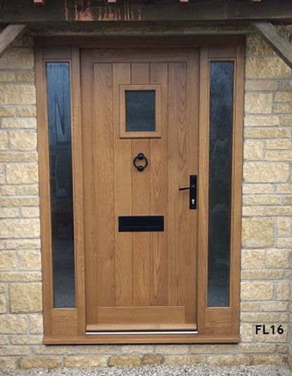 Oak Cottage Doors Framed Ledged Oak Or Painted Hardwood Door Window Pinte
