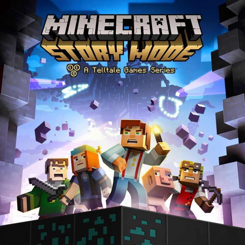 Minecraft Story Mode Episode 1 The Order Of The Stone Playstation 3 Front Cover Ps4 Digital Code Minecraft Games