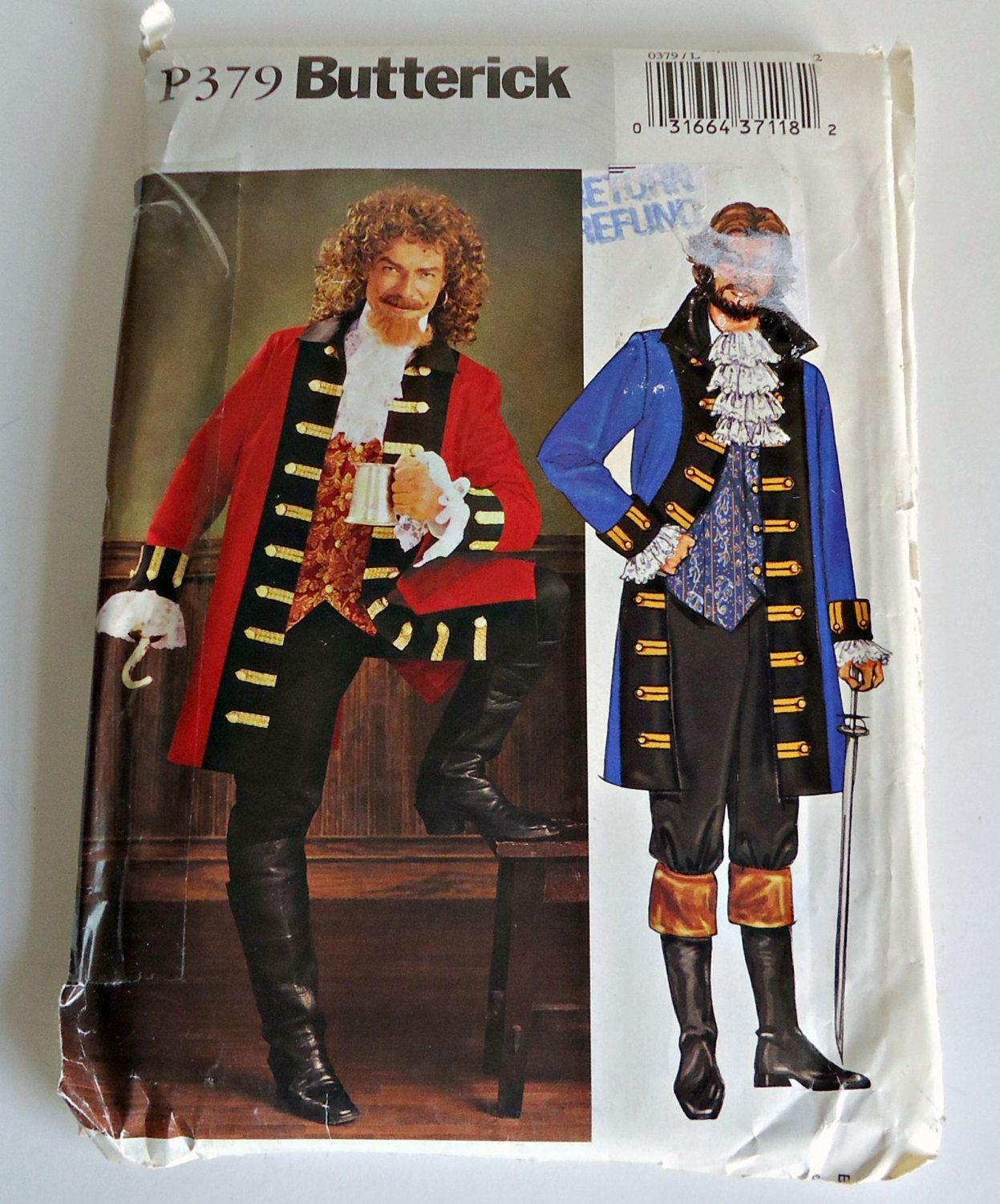 Pirate Costume Pattern Awesome Design Ideas