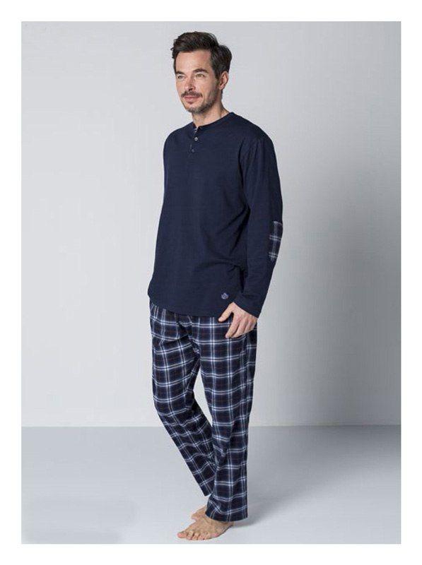 Pijama guasch algod n villela azul i guasch hombre pijama hombres y ropa interior hombre - Marcas de ropa interior para hombre ...