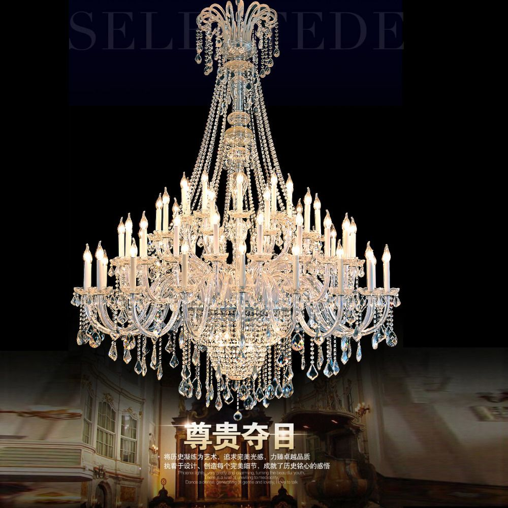 Hotel lobby chandelier large modern crystal chandeliers decorative cheap large chandelier buy quality chandeliers large directly from china chandelier chandelier suppliers large chandeliers for foyer large crystal arubaitofo Choice Image