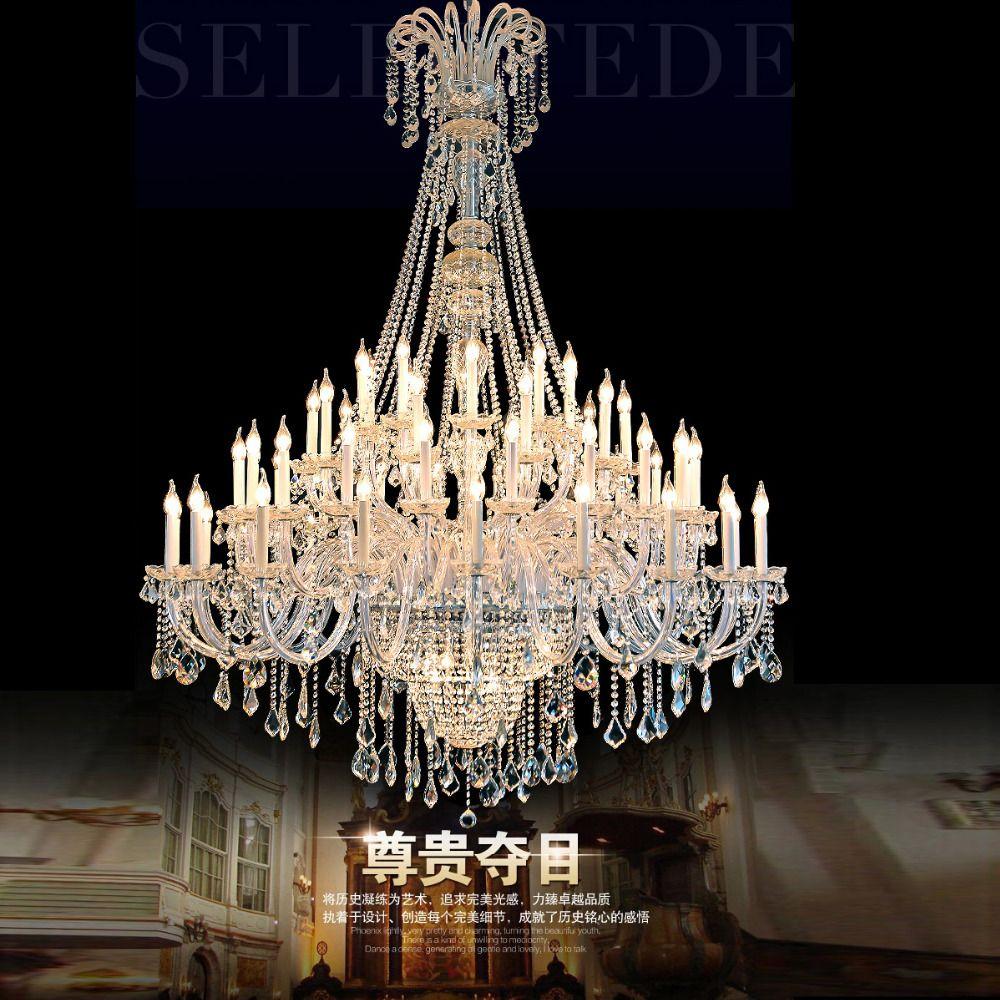 Hotel Lobby Chandelier Large Modern Crystal Chandeliers Decorative