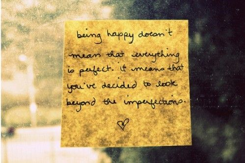 being happy... quotes