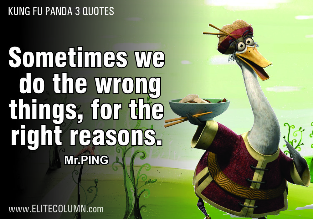 12 Kung Fu Panda 3 Quotes To Provoke The Child In You Kung Fu Panda Quotes Animation Quotes Kung Fu Panda 3