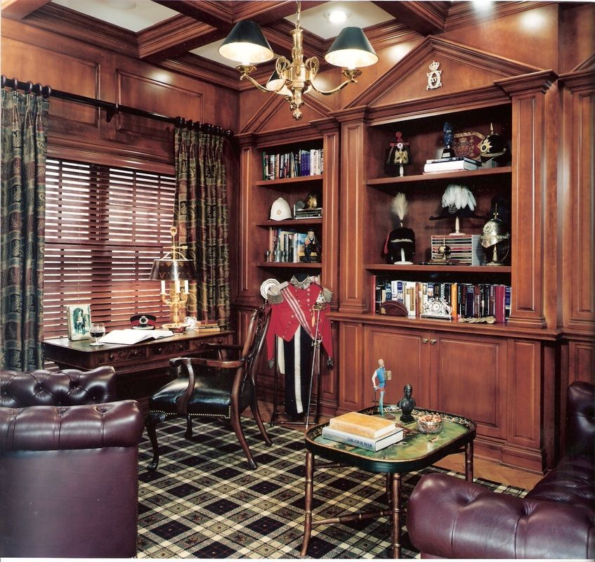 Stunning Custom Home Library Design Images - Amazing House ...