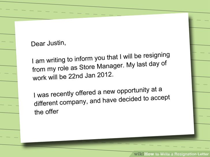 Short Resignation Letter Official Resignation Letters New Simple