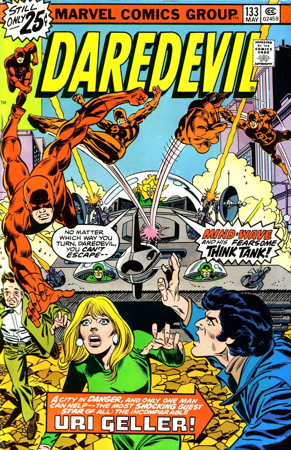 Daredevil #133 Cover By Gil Kane