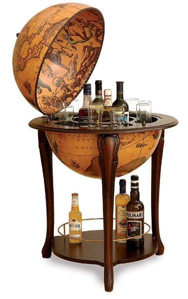 Lovely End Table Liquor Cabinet