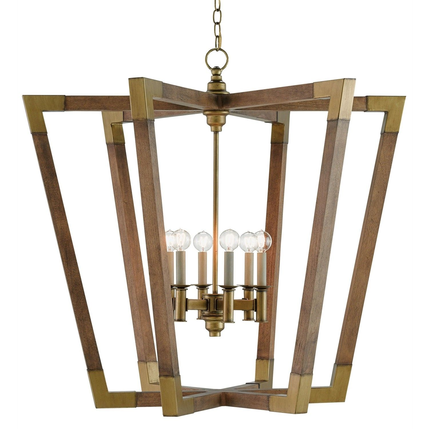 Garamond chandelier by currey and company material woodwrought garamond chandelier by currey and company material woodwrought iron finish chestnut mozeypictures Images