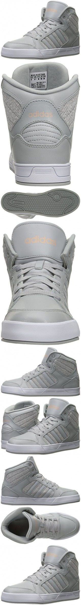 adidas neo women's raleigh metà w della scarpa, chiara onix / luce