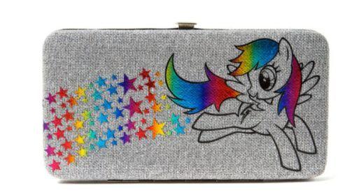 My Little Pony Wallet Equestria Girls Hardcase Hasbro Pinkie Pie Rainbow Dash