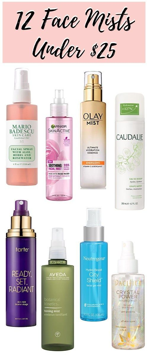 Hydrating Face Mists + Sprays Under $25 #beautyessentials