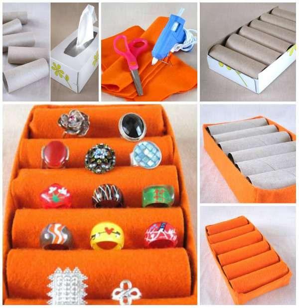 14 nouvelles fa ons d 39 utiliser les rouleaux de papier. Black Bedroom Furniture Sets. Home Design Ideas