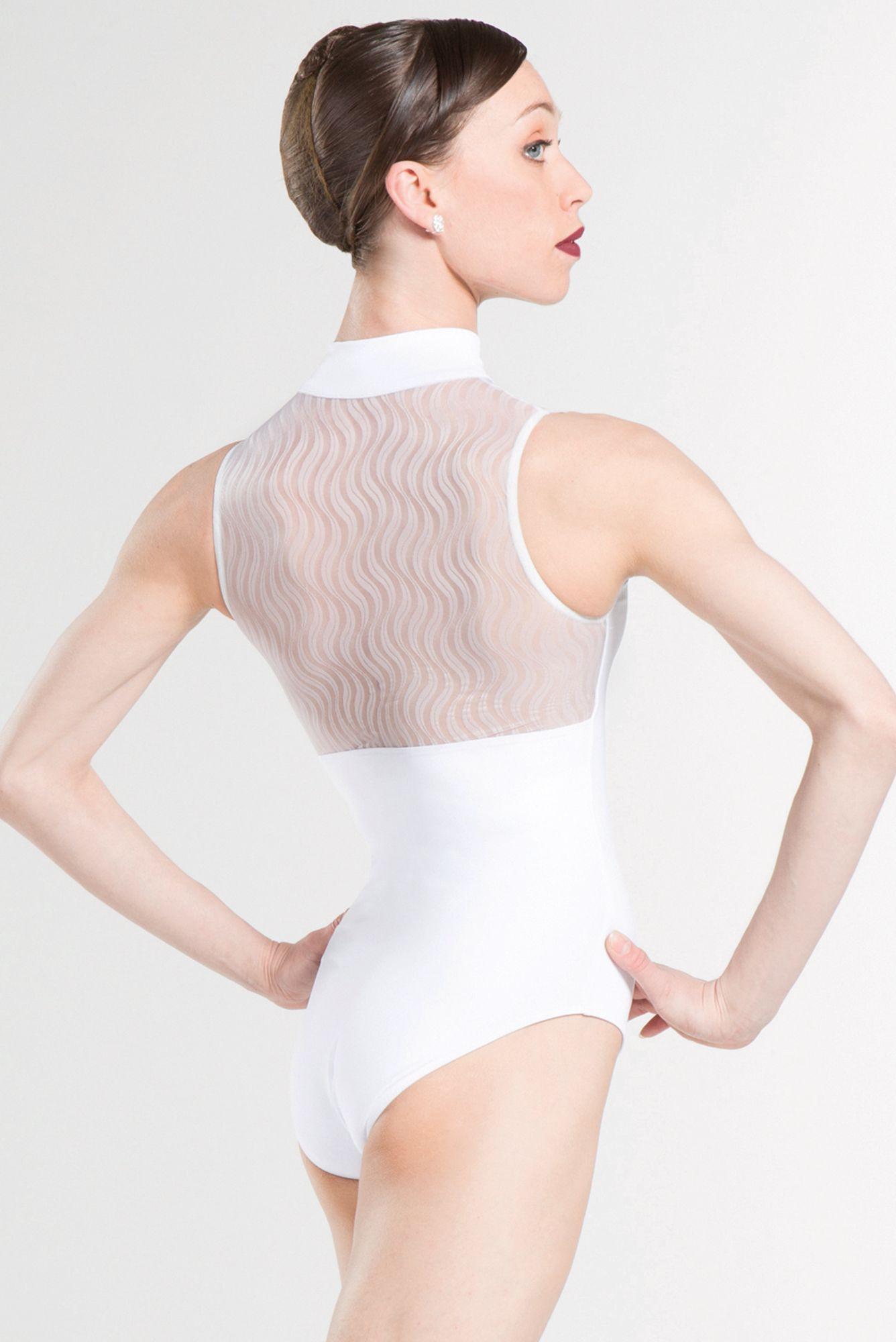 8fa7850bdb81 FOLIE - Wear Moi graceful mock neck leotard. wearmoi  ballet ...