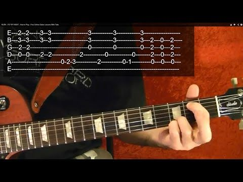 Guitar Lesson - METALLICA - Nothing Else Matters - ( 2 of 4 ) With ...