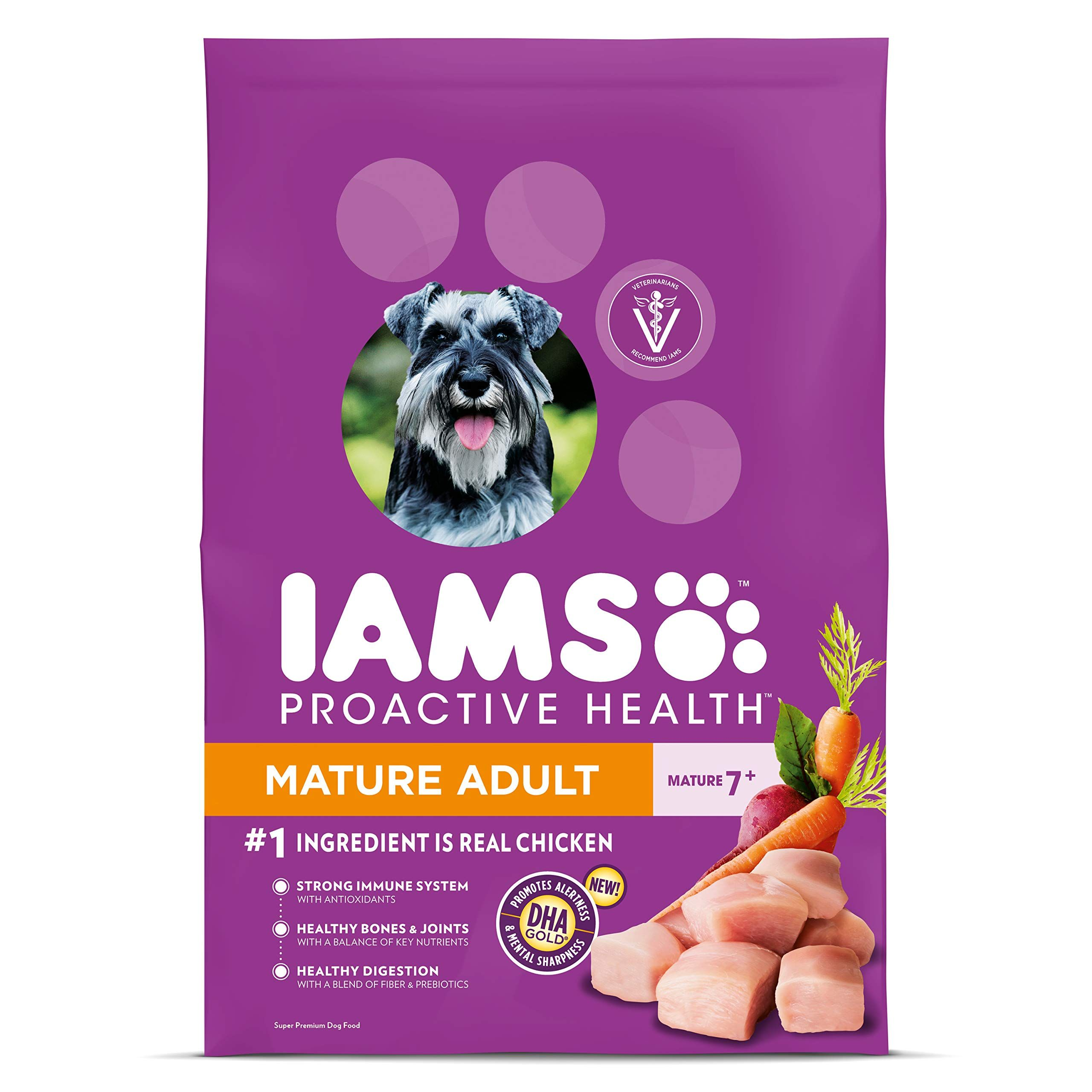 IAMS Proactive Health Senior Dry Dog Food, All Breed Sizes