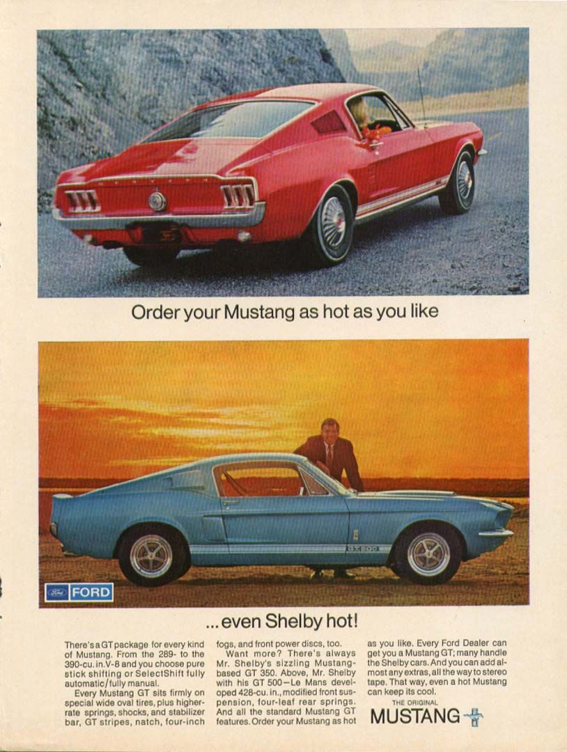 1967 Ford Mustang | Cool American Cars | Pinterest | Ford mustang ...