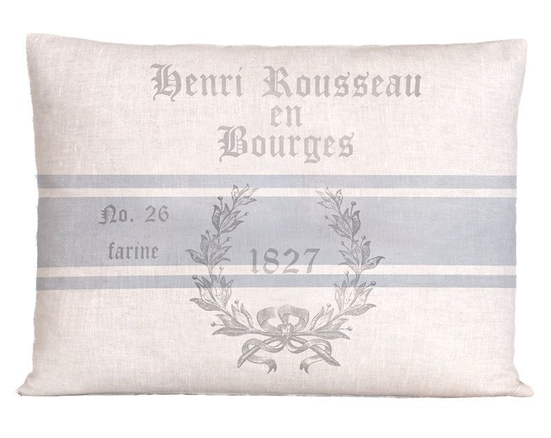 Funda de almohada de saco de lino grano por ScandinavianElements