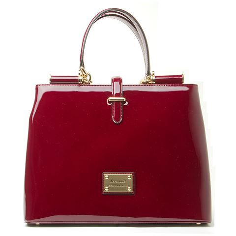 Serenade Leather Uptown Burgundy Tote I Have This Is Black 299