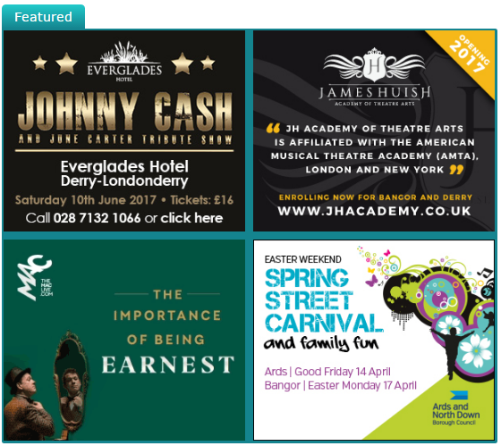 Check out this week's featured events at