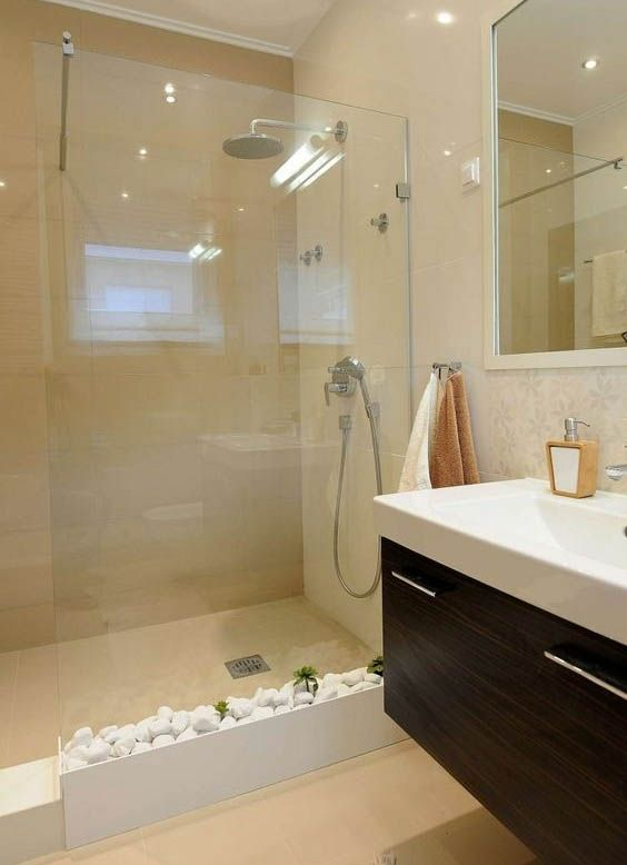 Baño Azulejos Claros | Bathroom | Bathroom, Bathroom renovations ...