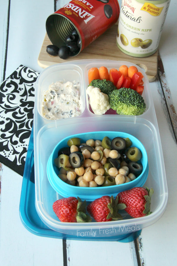 Over 50 healthy work lunchbox ideas family fresh meals bento 50 healthy work lunch ideas familyfreshmeals chickpea salad and olive spread familyfreshmeals forumfinder Image collections