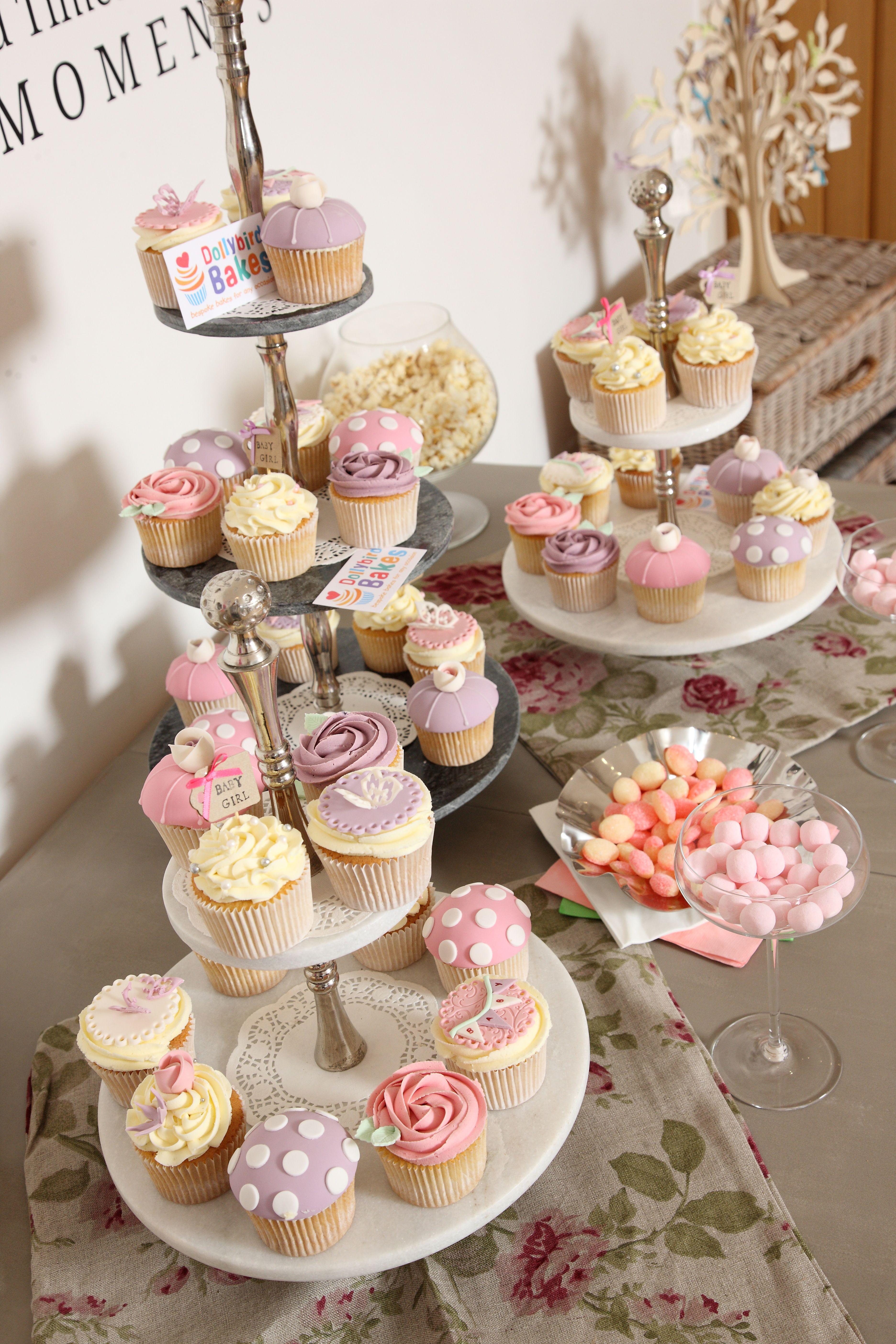 Pretty & Delicious!  Cupcakes by Dollybird Bakes of Launceston!