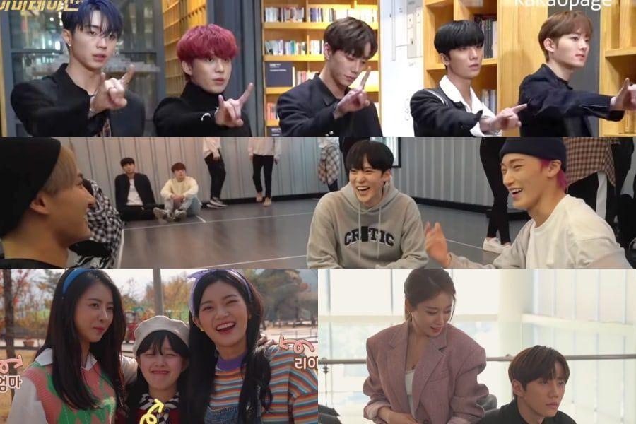 "Watch: Idol Drama ""Imitation"" Cast Has A Blast Testing Their Chemistry In 1st Making-Of Video"