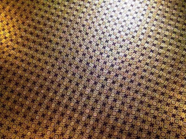 Gold Ceiling. Alkazar Palace, Seville.