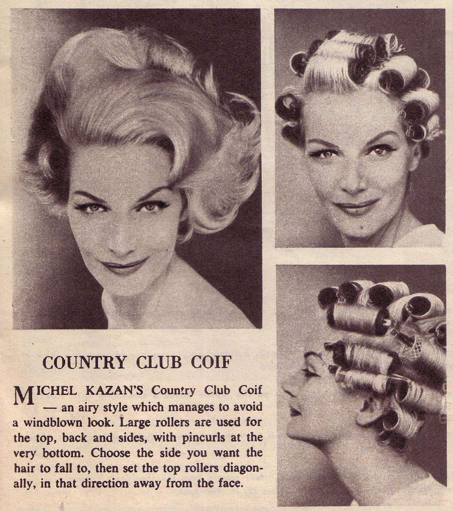 Country club coif