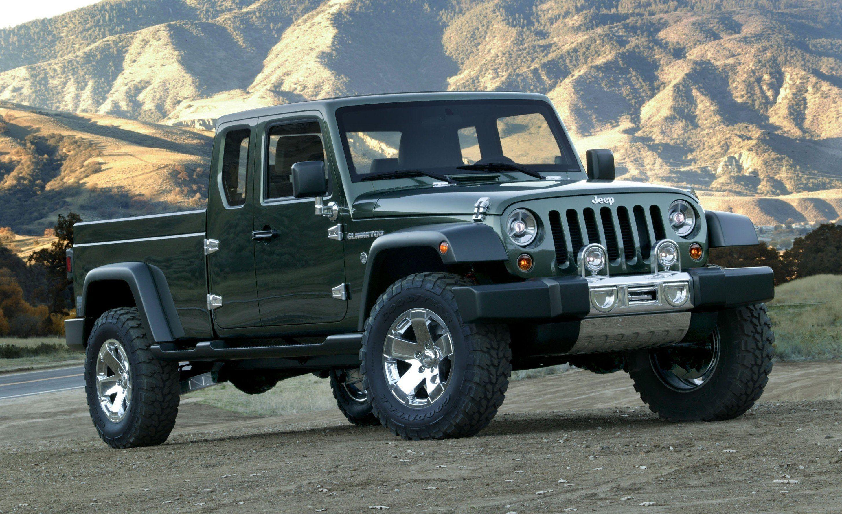 2020 Jeep Comanche Images