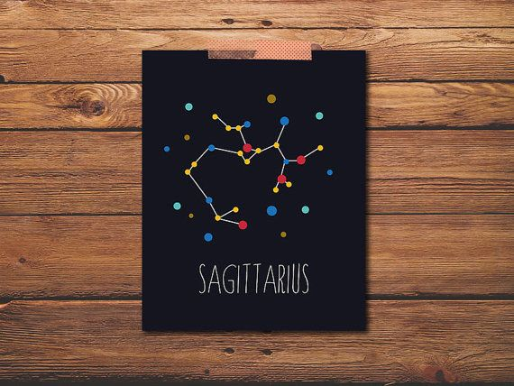 This simple, pretty art print. | 17 Ways To Show Your Sagittarius Pride