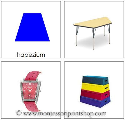 Geometric Shape Sorting Printable Montessori Math Materials Sorting Cards Math Materials Geometric Shapes
