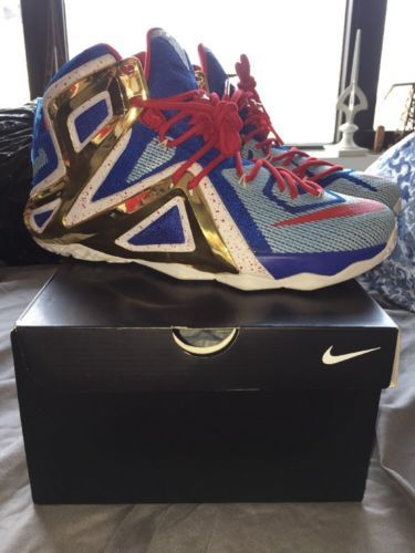 2517f90a36cfd ... uk sz 11 nike lebron 12 xii christ the king ctk jordan yeezy nmd id vnds
