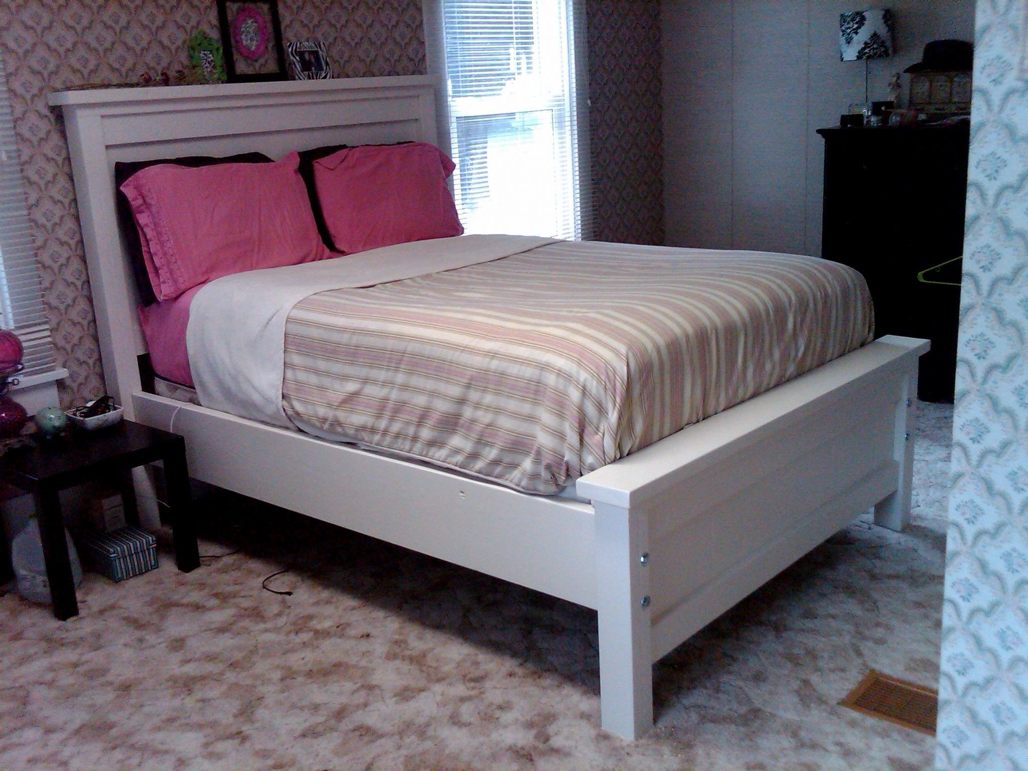 Full Size Farmhouse Bed Do It Yourself Home Projects From Ana