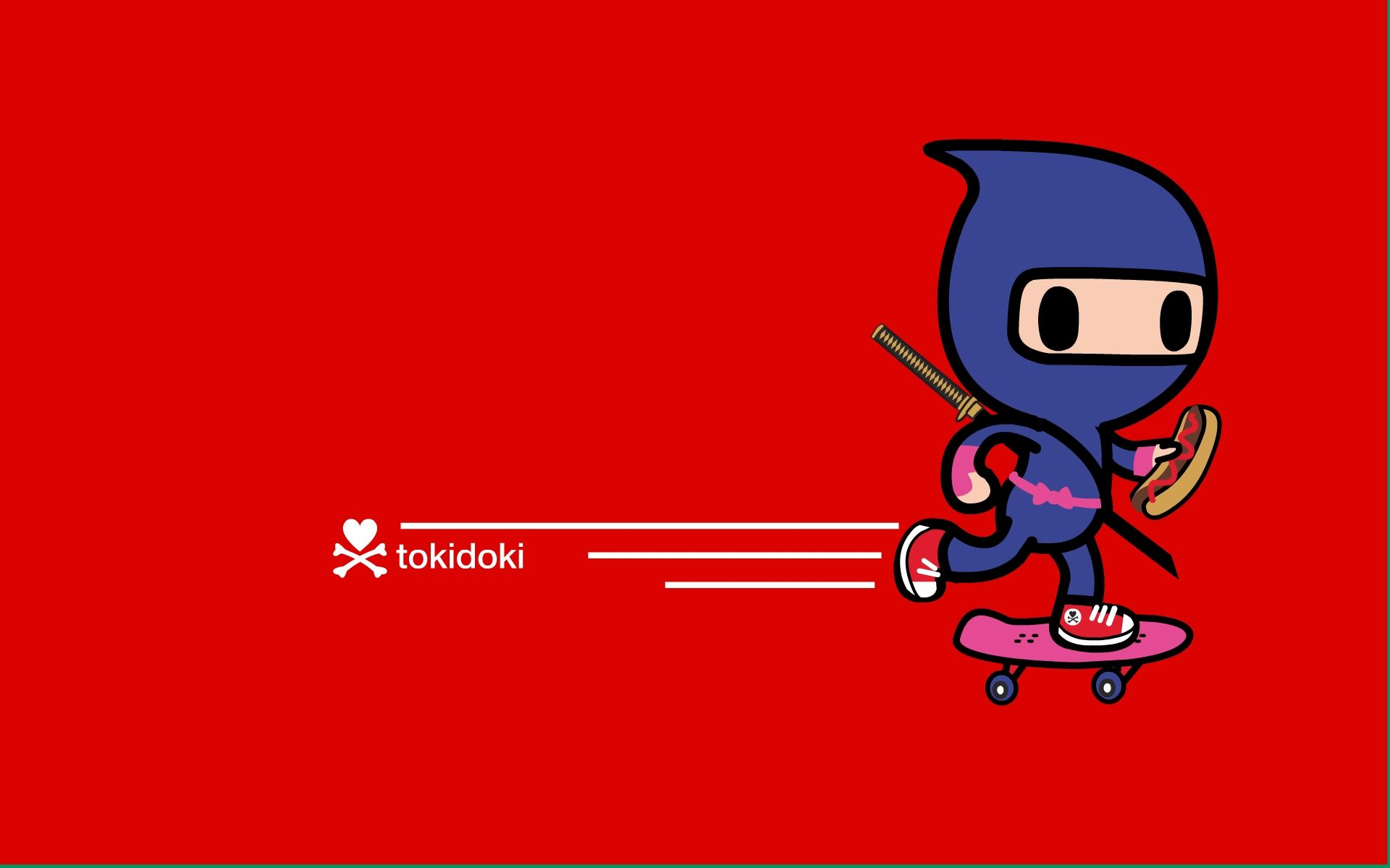 Toki Ninja Tokidoki Hd Wallpaper Full Hd Wallpaper