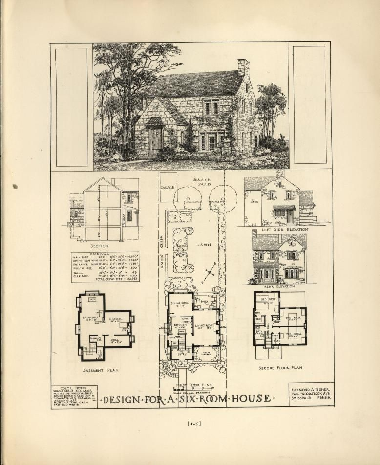 Chicago tribune book of homes | House Plans 1900 - 1930s in