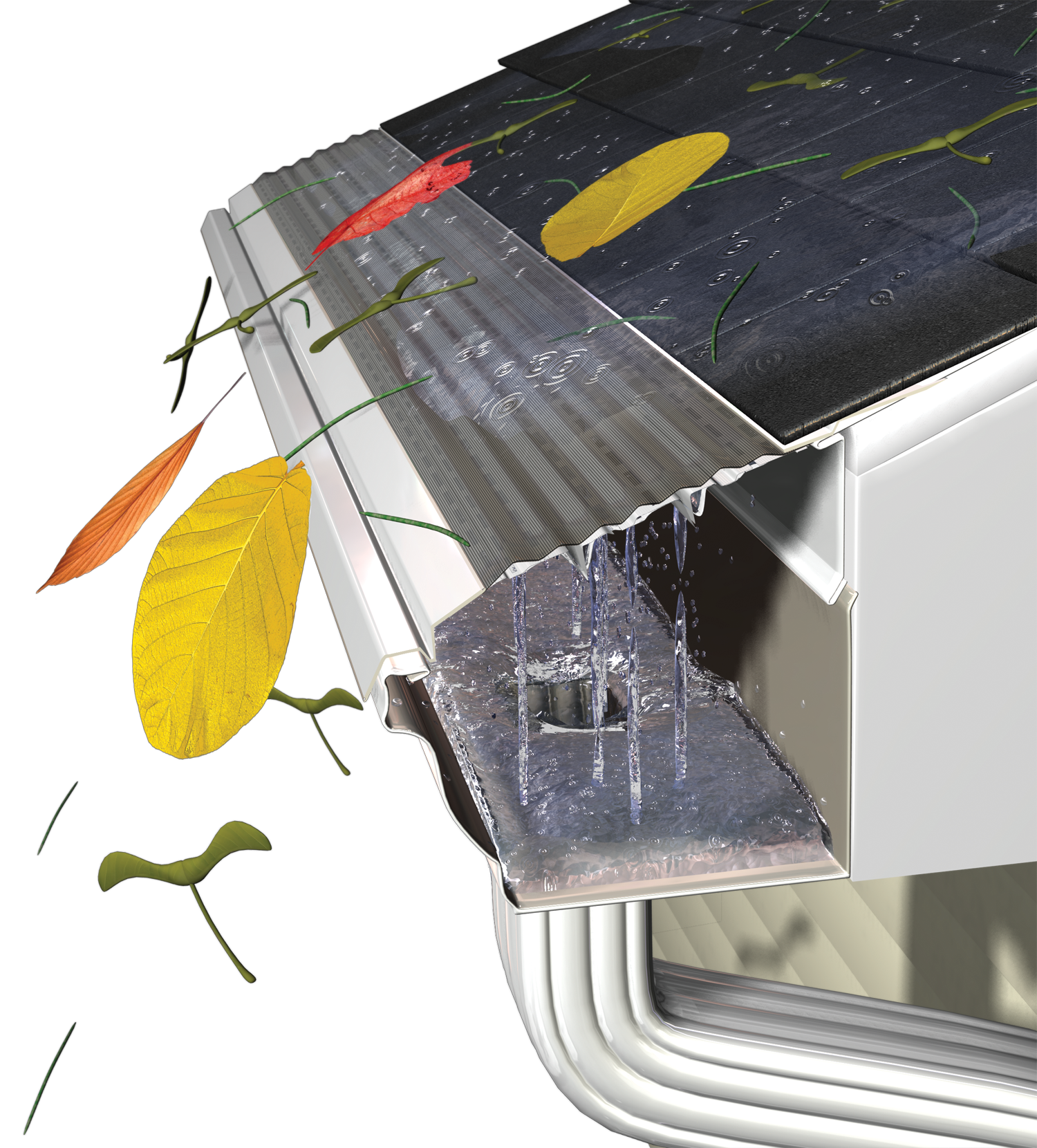How Do Gutter Guards Work Gutters Amp Guards Inc On
