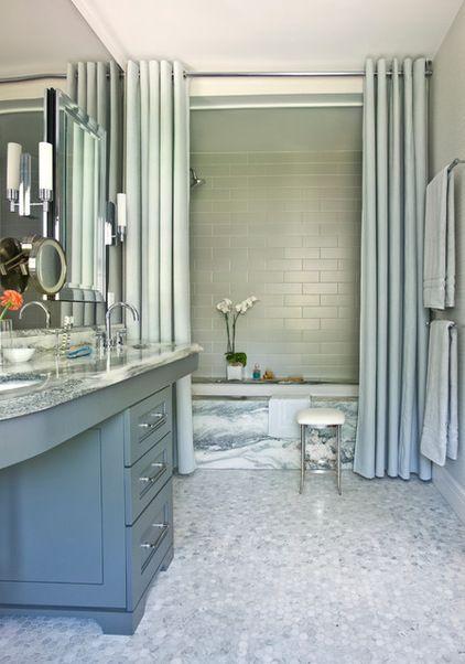 Shower Curtain Traditional Bathroom By Mark Williams Design