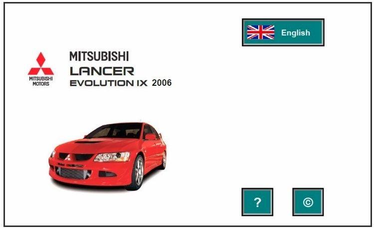 Mitsubishi Lancer EVO IX 2006 Factory Service Manual | MITSUBISHI REPAIR SERVICE MANUAL