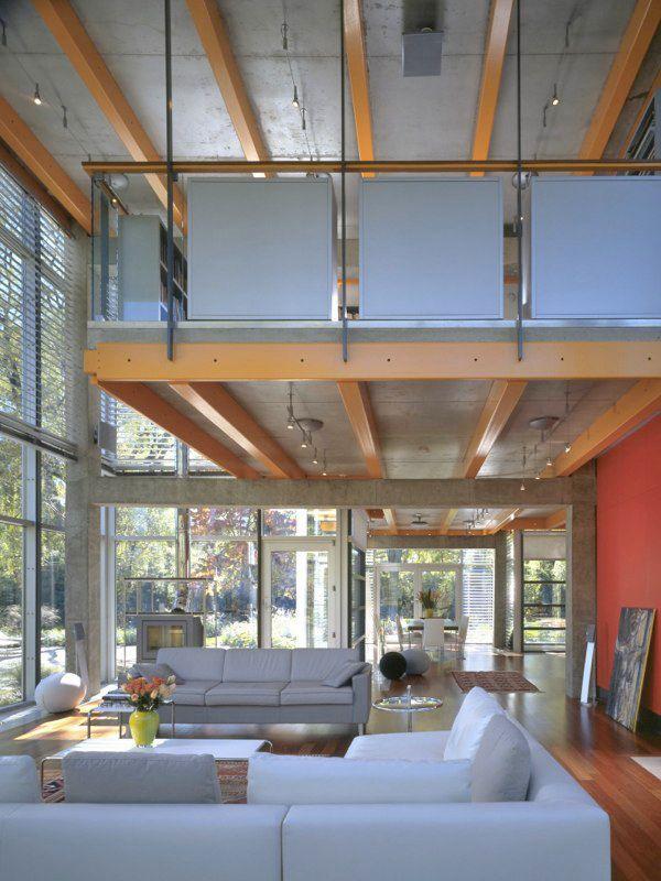 Spectacular glass house by architect Thomas Roszak