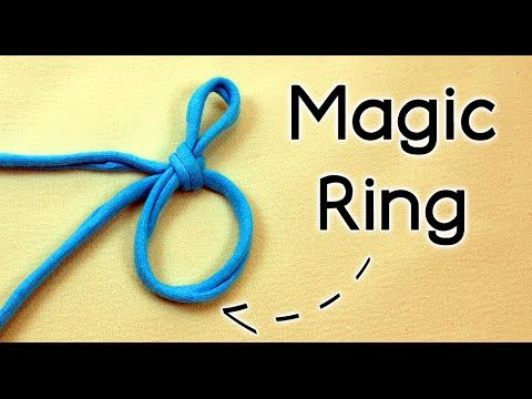How To Crochet The Magic Ring Adjustable Ring Magic Circle Magic