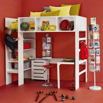 lit mezzanine duplex am pm lits lulu pinterest la redoute chambres et chambre enfant. Black Bedroom Furniture Sets. Home Design Ideas