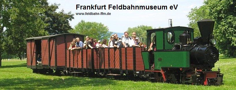 The Frankfurt Feldbahn Museum - every month they have days where you can ride the real steam train out into the big park nearby!    http://www.feldbahn-ffm.de/index.html