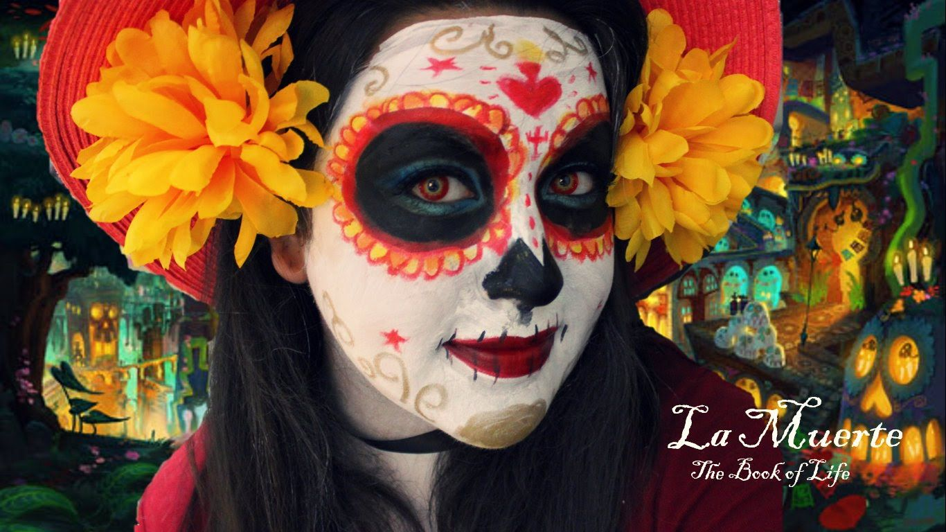 The Book Of Life - La Muerte Makeup Tutorial